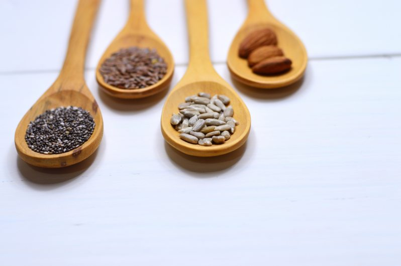 plant-based complete protein wooden spoons
